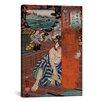 iCanvas Japanese Art 'Station #19 of Kisokaido Road' by Kuniyoshi Painting Print on Canvas