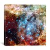 "iCanvas ""Star Cluster on Collision Course"" Wall Art on Wrapped Canvas"