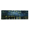 """iCanvas """"Starry Night over the Rhone"""" by Vincent Van Gogh Painting Print on Wrapped Canvas"""