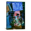 iCanvas 'Still Life Before an Open Window, Place Ravignan' by Juan Gris Painting Print on Canvas
