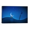 iCanvas Stealing the Moon Canvas Art