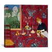 """iCanvas """"The Red Room (1908)"""" by Henri Matisse Painting Print on Wrapped Canvas"""