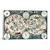 """iCanvas Antique Maps """"Star- Zodiac Chart"""" by Frederik Wit Graphic Art on Wrapped Canvas"""