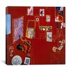 "iCanvas ""The Red Studio (1911)"" Canvas Wall Art by Henri Matisse"