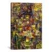 iCanvas 'Still Life with Autumn Flowers (Herbstblumen Stilleben) 1925' by Paul Klee Graphic Art on Canvas