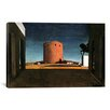 """iCanvas """"The Red Tower"""" by Giorgio de Chirico Painting Print on Wrapped Canvas"""