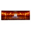 iCanvas Panoramic Statue Surrounded by a Railing in a Building, California State Capitol Building, Sacramento, California Photographic Print on Canvas
