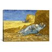 iCanvas 'The Siesta (After Millet)' by Vincent Van Gogh Painting Print on Canvas