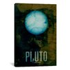 iCanvas 'The Planet Pluto' by Michael Tompsett Graphic Art on Wrapped Canvas