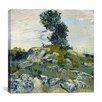 "iCanvas ""The Rocks"" Canvas Wall Art by Vincent Van Gogh"