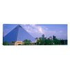 iCanvas Panoramic The Pyramid Memphis, Tennessee Photographic Print on Canvas