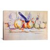 iCanvas 'Still Life with Saucepan, 1902' by Paul Cezanne Painting Print on Wrapped Canvas