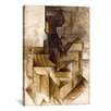 iCanvas 'The Rower' by Pablo Picasso Painting Print on Wrapped Canvas