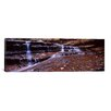 iCanvas Panoramic Stream Flowing Through Rocks, North Creek, Zion National Park, Utah Photographic Print on Canvas