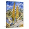 iCanvas 'The Poplars at Saint-Remy' by Vincent Van Gogh Painting Print on Wrapped Canvas