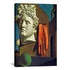 """iCanvas """"The Song of Love"""" by Giorgio de Chirico Painting Print on Wrapped Canvas"""