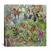 """iCanvas """"The Rainforest"""" by Tim Knepp Painting Print on Wrapped Canvas"""