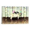 """iCanvas """"The Performers (Dogs)"""" by Charlsie Kelly Graphic Art on Wrapped Canvas"""
