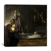 """iCanvas """"The Raising of Remberandt"""" by Rembrandt Painting Print on Wrapped Canvas"""