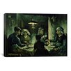 iCanvas 'The Potato Eaters' by Vincent Van Gogh Painting Print on Canvas