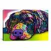 iCanvas 'Savvy Labrador' by Dean Russo Graphic Art on Canvas
