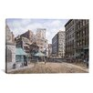 "iCanvas ""Scolray Sq, California 1898"" by Stanton Manolakas Painting Print on Wrapped Canvas"