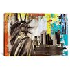 iCanvas 'Statue of Liberty' by Luz Graphic Art on Wrapped Canvas