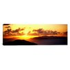 iCanvas Panoramic Sunset Virgin Gorda British Virgin Islands Photographic Print on Canvas