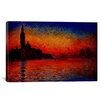 iCanvas Sunset by Claude Monet Painting Print on Canvas