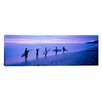 iCanvas Panoramic Surfers on Beach Costa Rica Photographic Print on Canvas