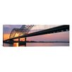 iCanvas Panoramic Sunset, Hernandez Desoto Bridge and Mississippi River, Memphis, Tennessee Photographic Print on Canvas