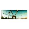 iCanvas Panoramic Brooklyn Bridge, Manhattan, New York City Photographic Print on Canvas