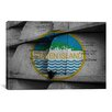 iCanvas Flags Staten Island 911 Memorial Postcard Graphic Art on Canvas
