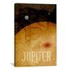 iCanvas 'The Planet Jupiter' by Michael Thompsett Graphic Art on Canvas