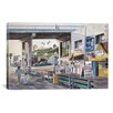 "iCanvas ""Santa Monica: Prominade at Sunset"" by Stanton Manolakas Painting Print on Wrapped Canvas"