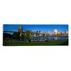 iCanvas Panoramic Brooklyn Bridge Park, Brooklyn Bridge, East River, Manhattan, New York City, New York State  Photographic Print on Canvas