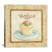 """iCanvas """"Sweet Cupcakes (Vanilla)"""" by Lisa Audit Graphic Art on Wrapped Canvas"""
