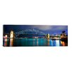 iCanvas Panoramic Sydney Harbor, Sydney, New South Wales, Australia Photographic Print on Wrapped Canvas