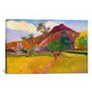 iCanvas 'Tahitian Landscape' by Paul Gauguin Painting Print on Canvas