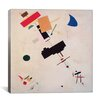 """iCanvas """"Suprematist Composition No.56, 1916"""" by Kazimir Malevich Graphic Art on Wrapped Canvas"""