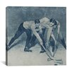 iCanvas Canada Vintage Hockey Game #4 Graphic Art on Canvas