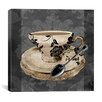 """iCanvas """"Vintage Cafe I"""" Canvas Wall Art from Color Bakery"""
