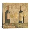 """iCanvas """"Vineyard Flavor I"""" by Daphne Brissonnet Painting Print on Wrapped Canvas"""