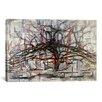 "iCanvas ""Tree, 1911"" Canvas Wall Art by Piet Mondrian"