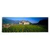 iCanvas Panoramic Aigle Castle, Musee de la Vigne Et Du Vin, Aigle, Vaud, Switzerland Photographic Print on Wrapped Canvas