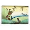 "iCanvas ""Woodcut"" by Utagawa Hiroshige l Painting Print on Wrapped Canvas"