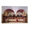 iCanvas 'The Last Supper' by Domenico Ghirlandaio Painting Print on Canvas