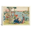 "iCanvas ""Woodcut, 1806"" by Katsushika Hokusai Painting Print on Wrapped Canvas"