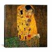 iCanvas 'The Kiss' by Gustav Klimt Painting Print on Canvas