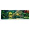 iCanvas Panoramic The Japanese Garden Seattle, Washington Photographic Print on Wrapped Canvas